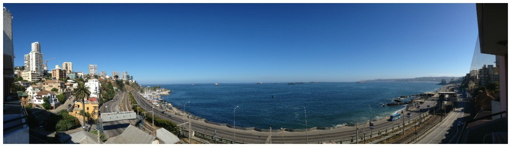 Bay view in Vina del Mar