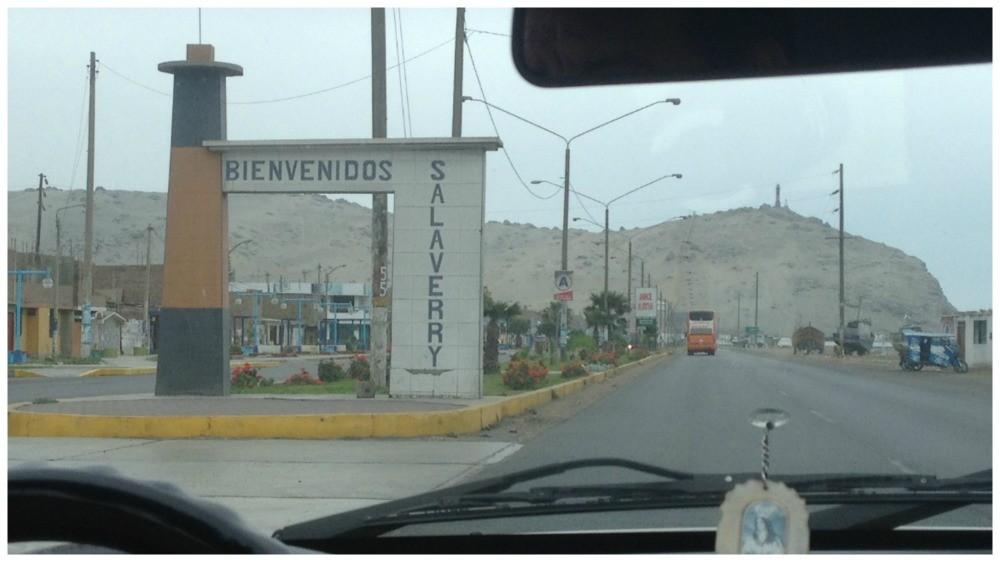 Bienvenidos Salaverry Peru