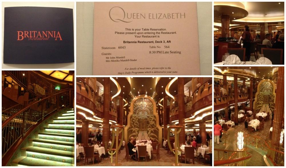 Britannia Restaurant on Queen Elizabeth