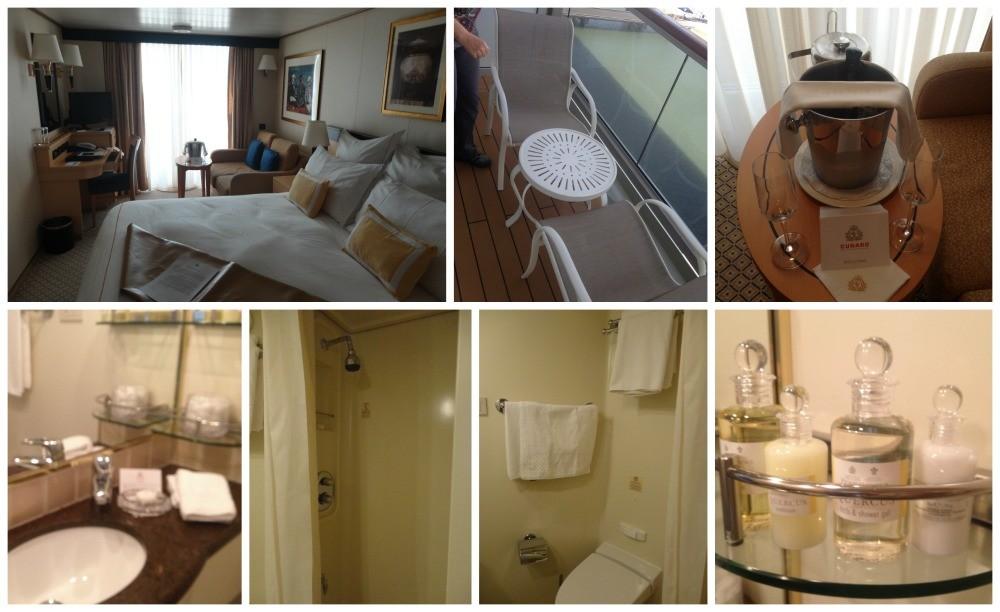 Cabin #6043 on Queen Elizabeth