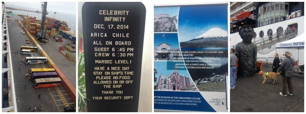 Celebrity Infinity in Arica, Chile