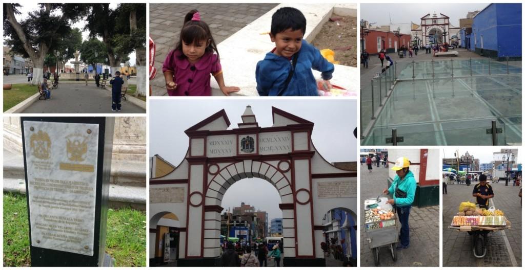 Centro de Historico Trujillo in Peru
