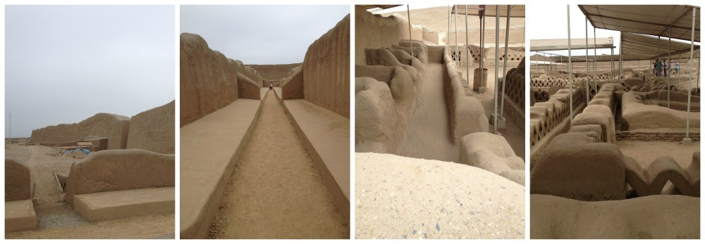 Chan Chan archeological site in Peru