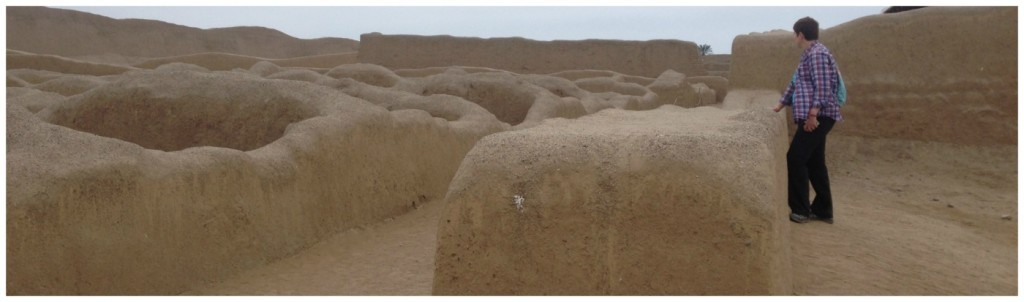 Chan Chan Archeological Zone in Trujillo