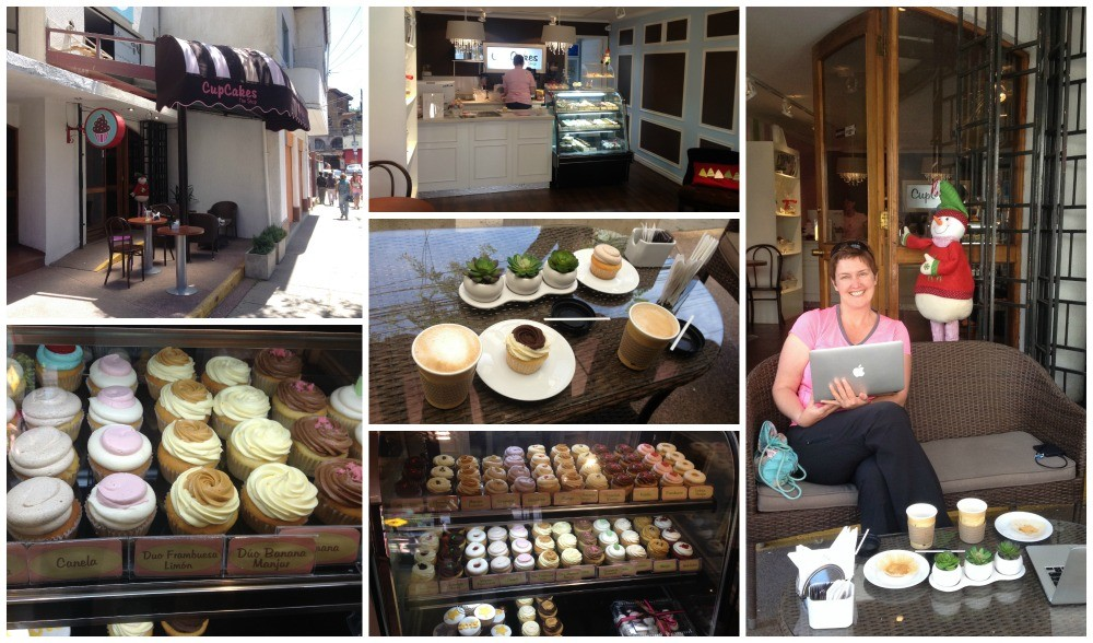 Cup cakes Cafe in Vina del Mar