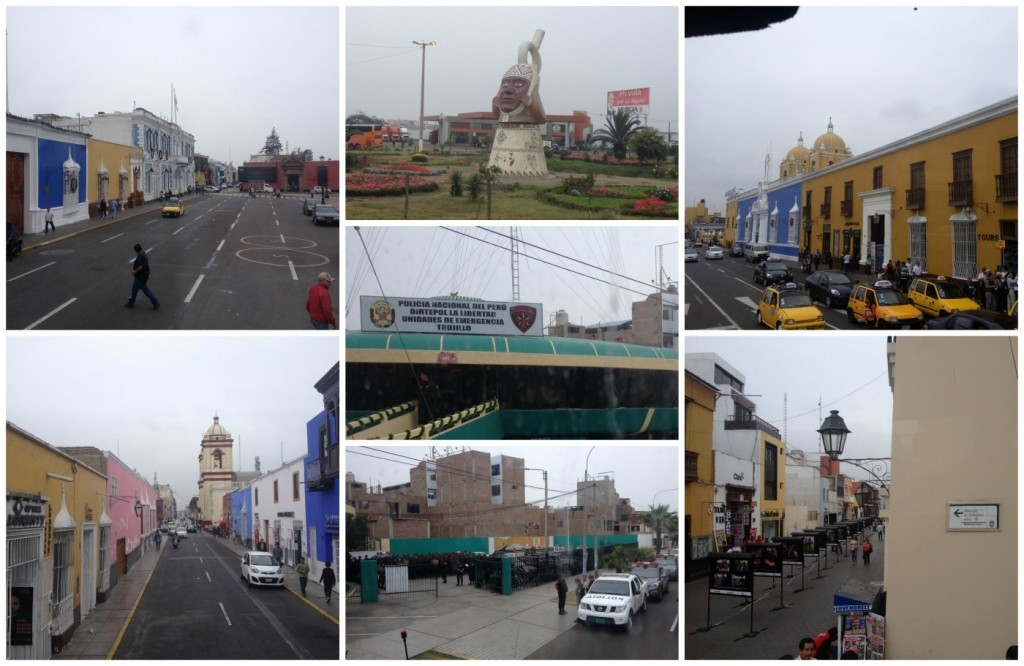 Images from Trujillo in Peru