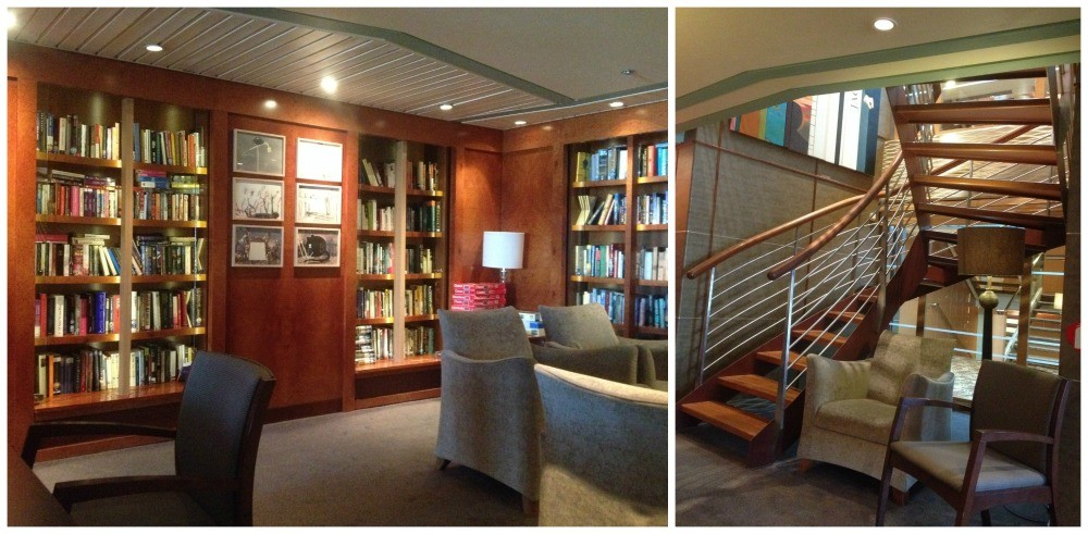 Library on Celebrity Infinity
