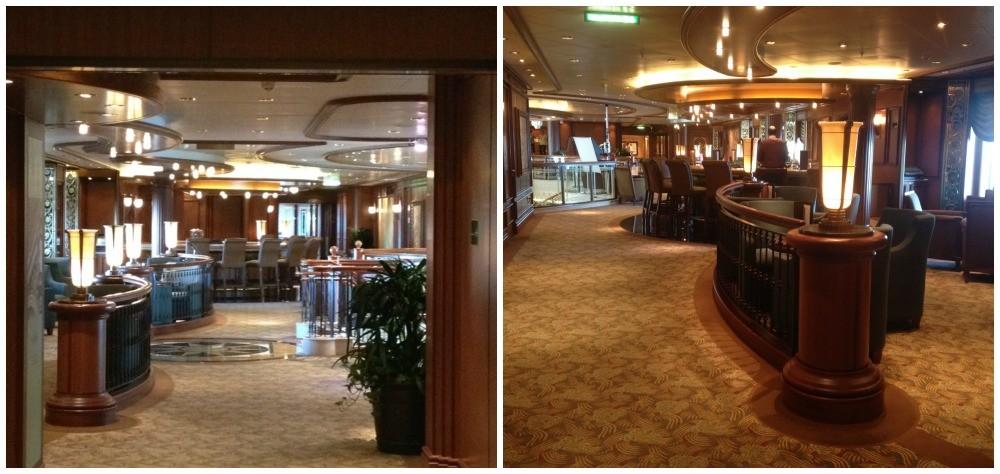 Midship Bar on Queen Elizabeth