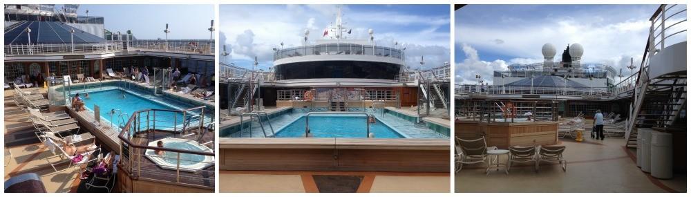 Pavillion pool on Queen Elizabeth