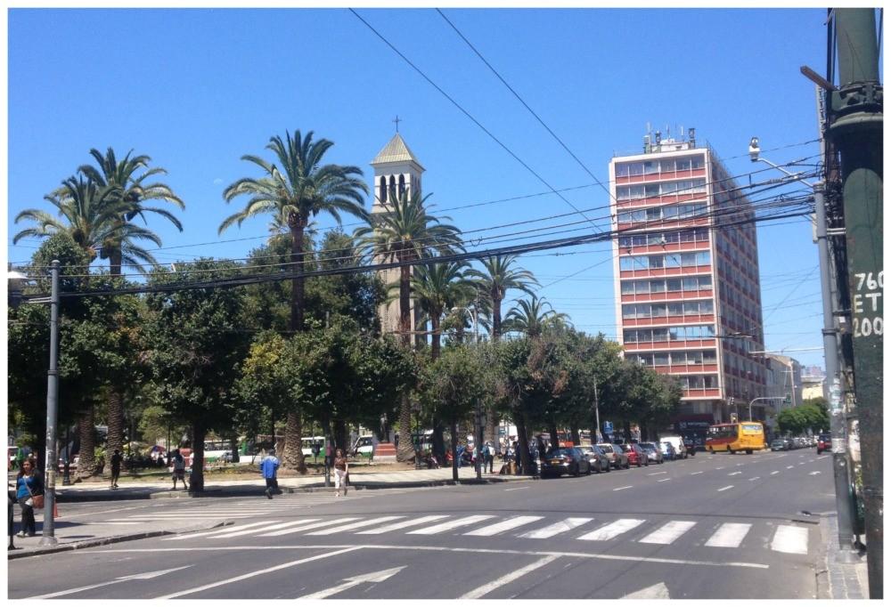 Plaza Victoria in Valparaiso