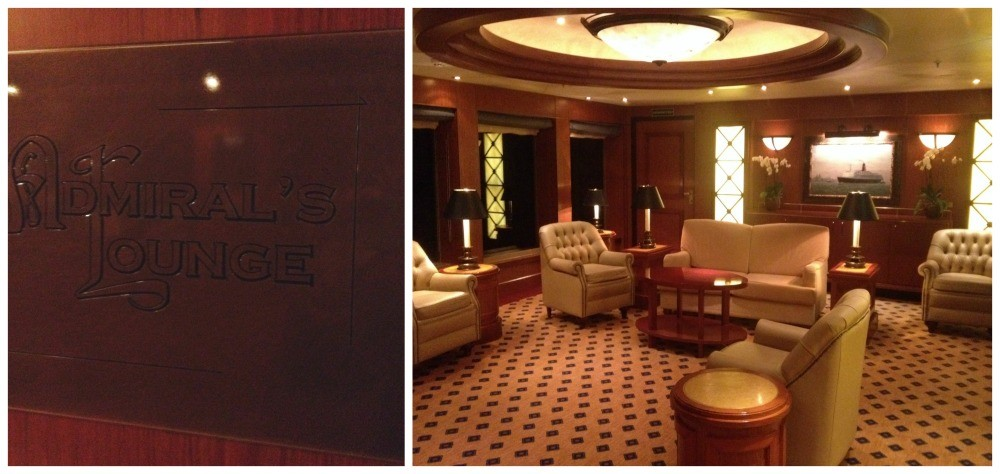 The Admirals Lounge on Queen Elizabeth