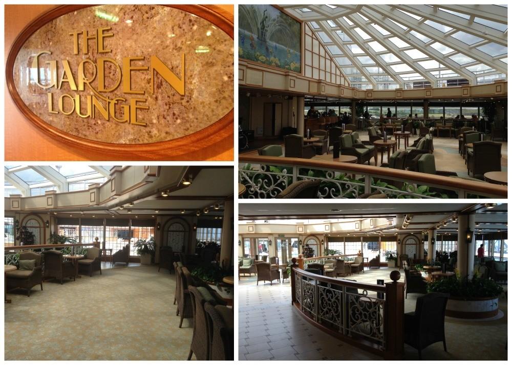 The Garden Lounge on Queen Elizabeth