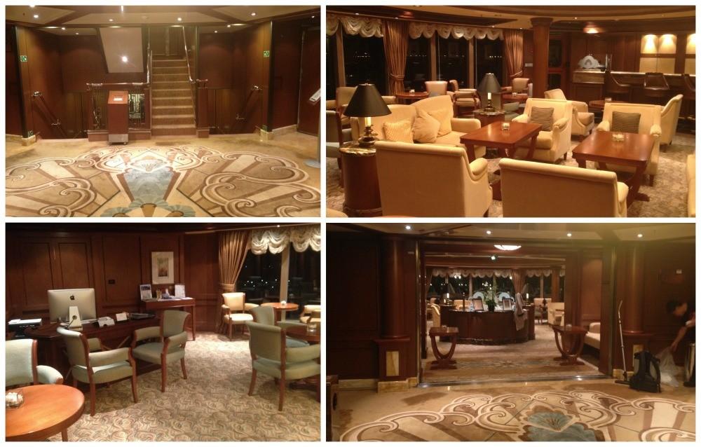 The Gills Lounge on Queen Elizabeth