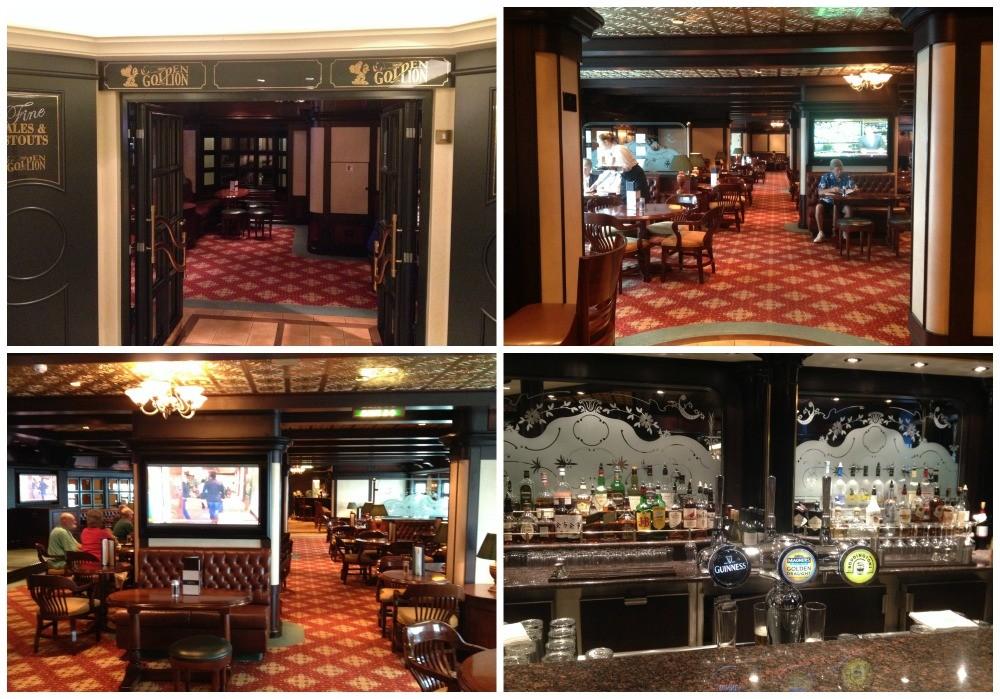 The Golden Lion Pub on Queen Elizabeth