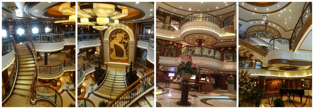 The Grand Lobby on Queen Elizabeth