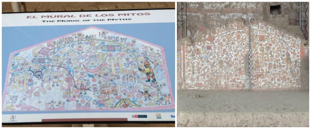The Mural of the Myths - El Mural de los Mitos