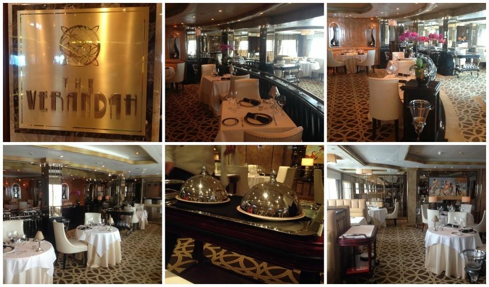 The Verandah Restaurant on Queen Elizabeth