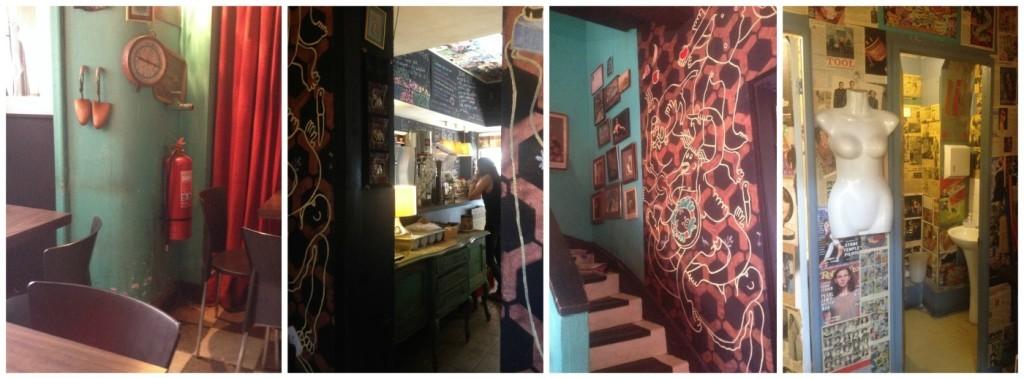 Cafe Primmo in Santiago rustic style