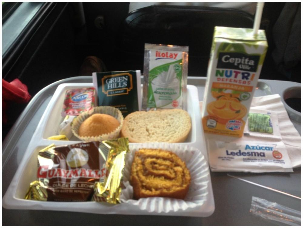 Breakfast on the bus CATA International