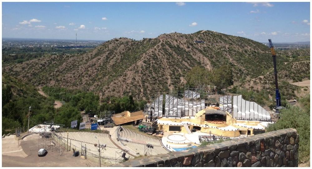 Frank Romero Day Greek Theater in Mendoza