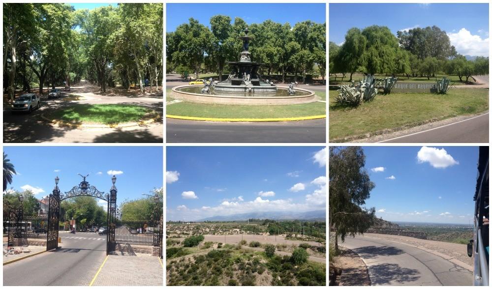 Mendoza city bus tour