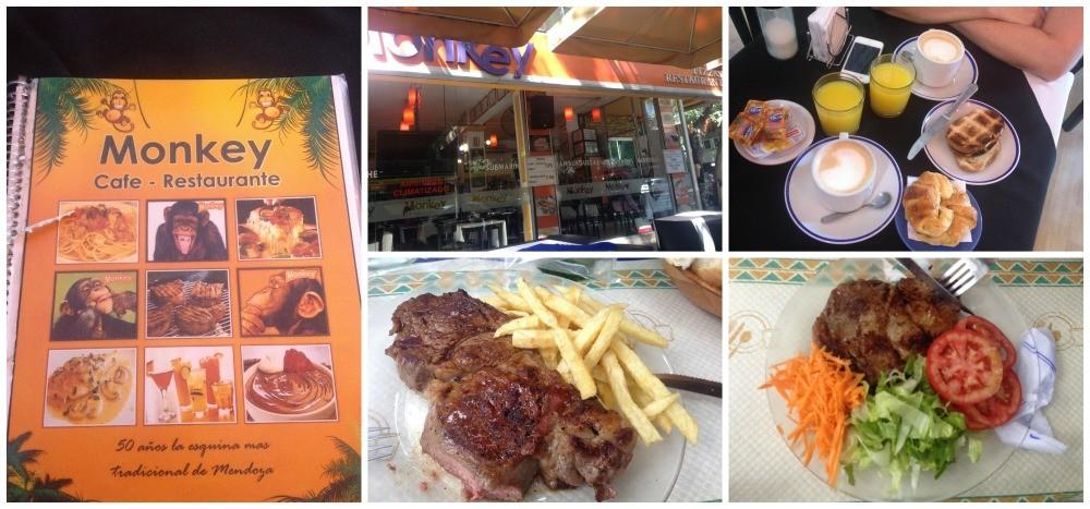 Monkey cafe - restaurant in Mendoza