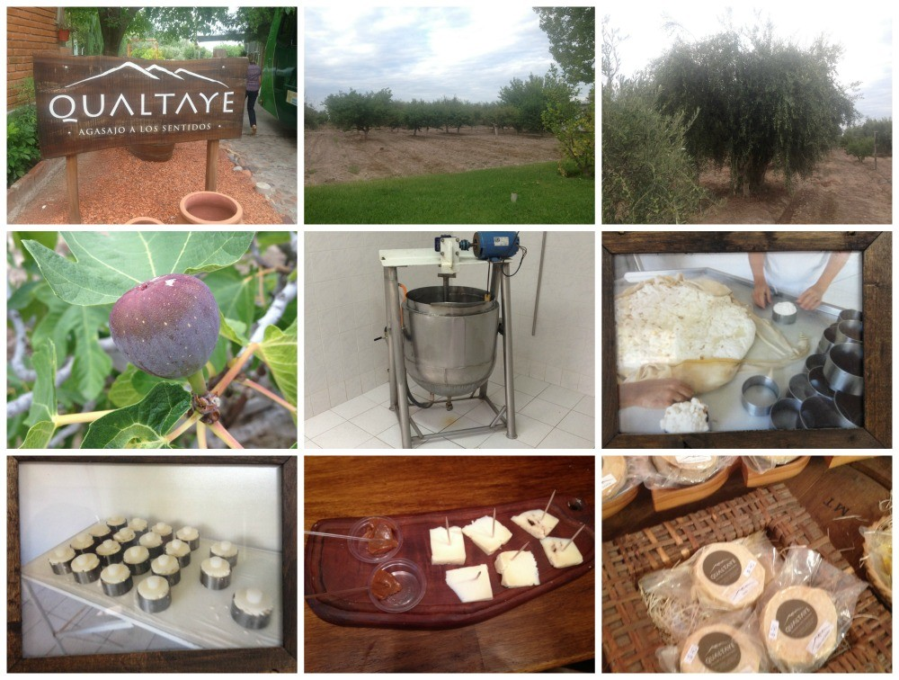 Qualtaye cheese and preserves in Mendoza