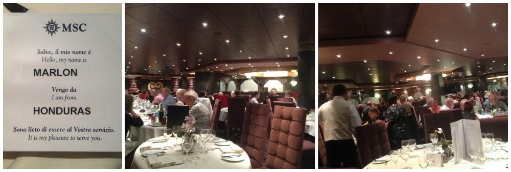 L'Edera Restaurant MSC Magnifica