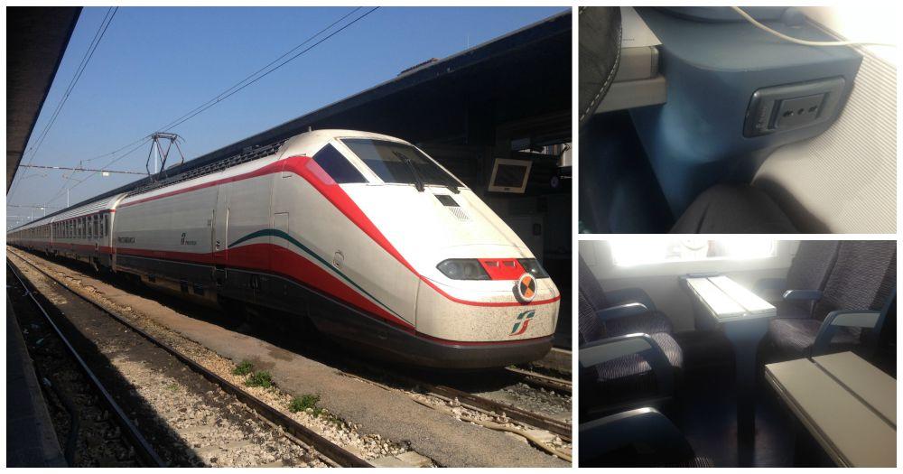TrenItalia Frecciabianca 9732 to Milan