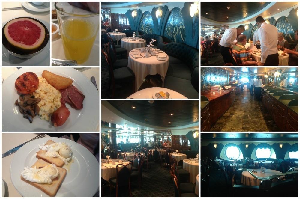 Breakfast in L'Edera restaurnat on MSC Magnifica 2015