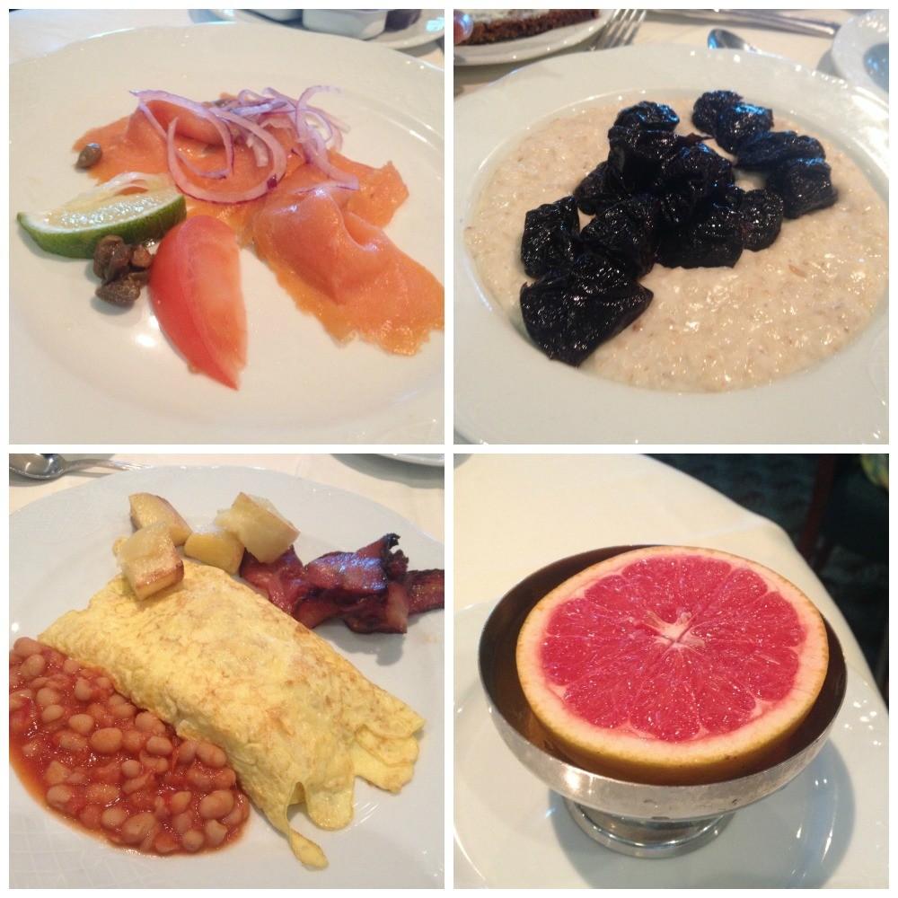 Breakfast meals on MSC Magnifica 2015