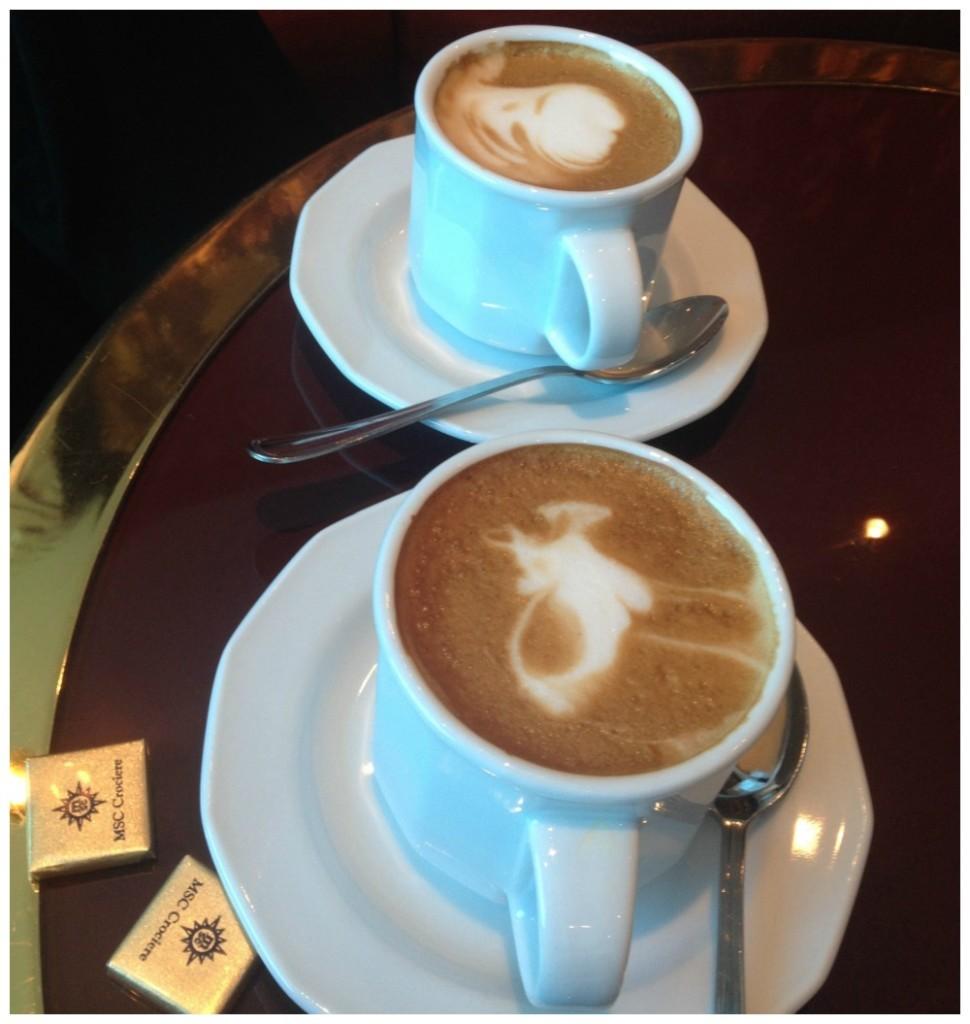 Cappuccino on MSC Magnifica 2015