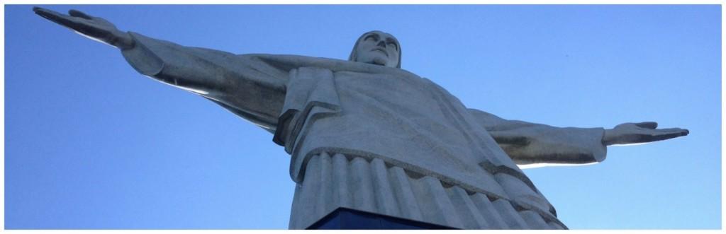Christ the redeemer statue in RIo, Brazil