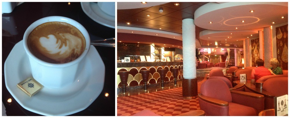 Coffee in Le Gocce Bar