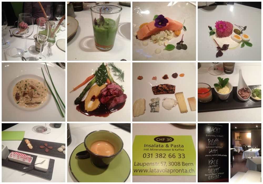 Dinner @ latavolapronta.ch in Bern 2015