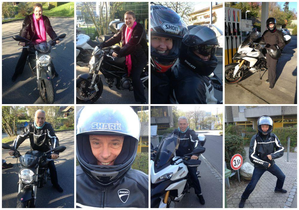 Ducati bike trip