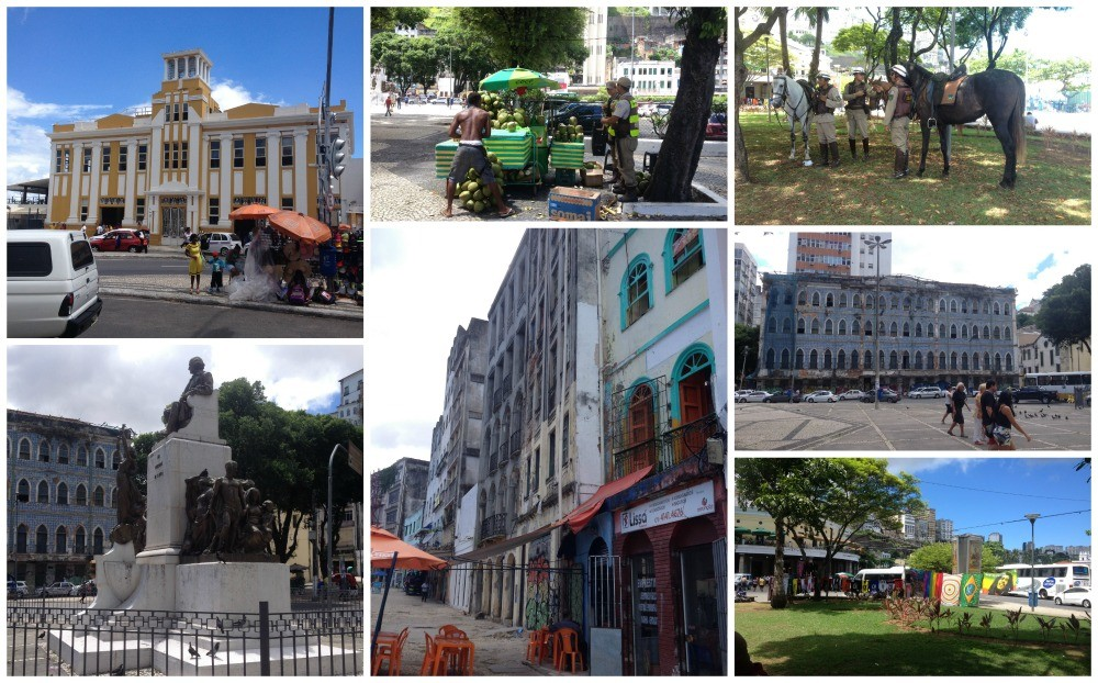 First images from Salvador