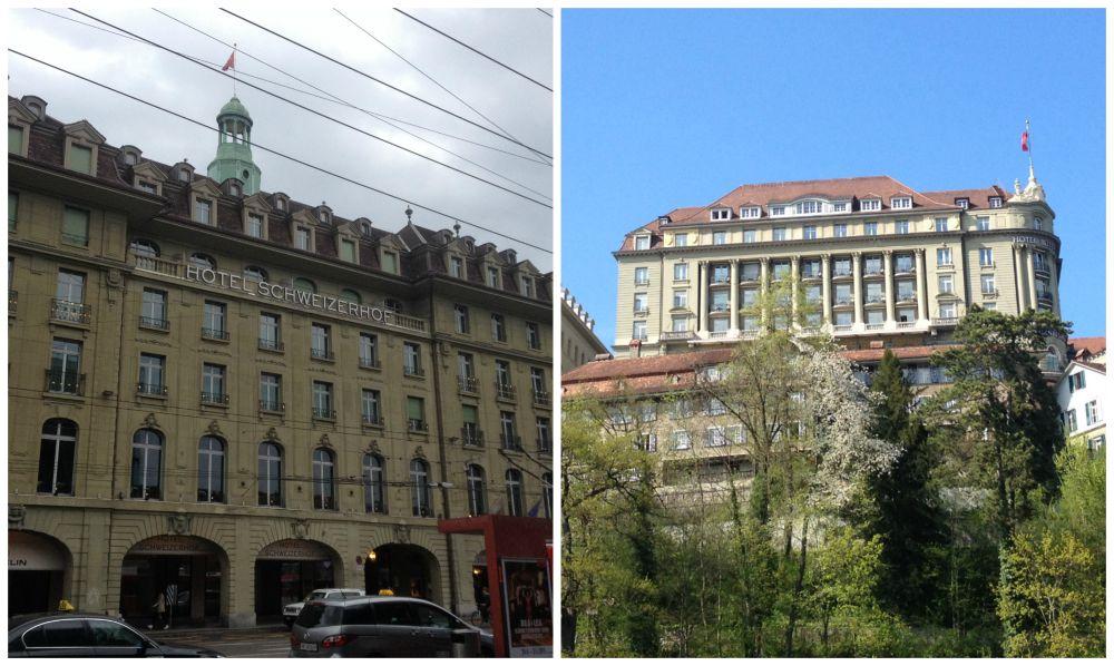 Hotel Schweizerhof & Hotel Bellevue Palace in Bern