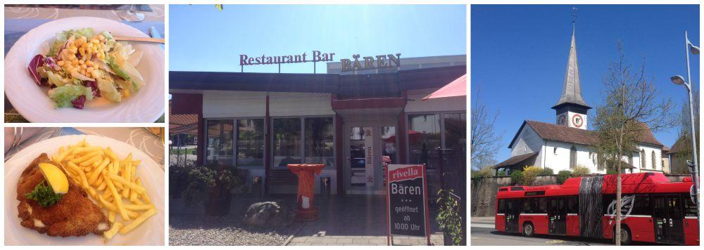 Lunch at the Bären in Bern