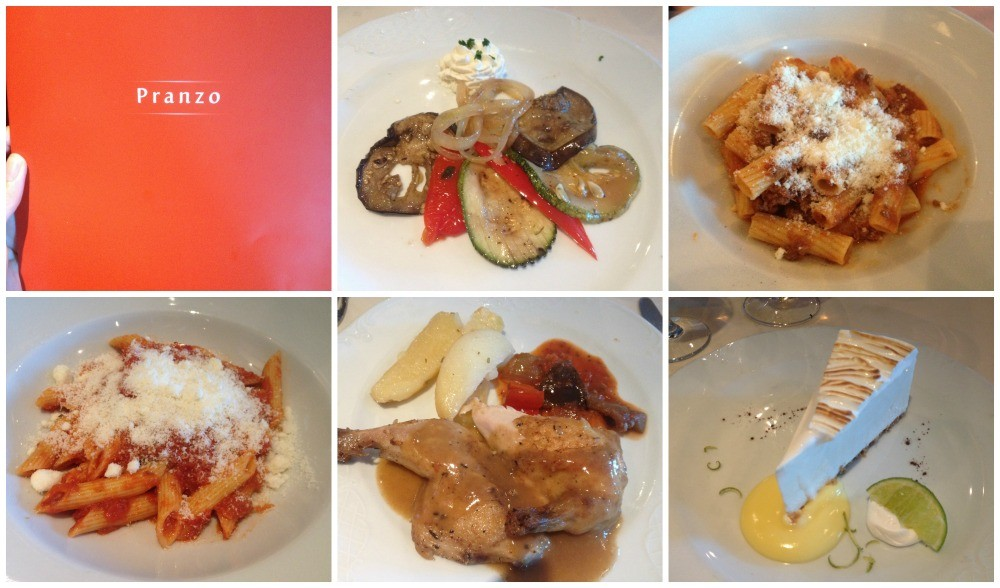 Lunch on MSC Magnifica cruise to Venice 2015