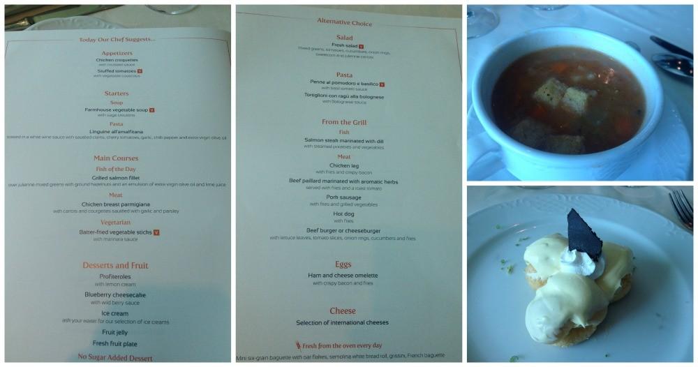 MSC lunch menu