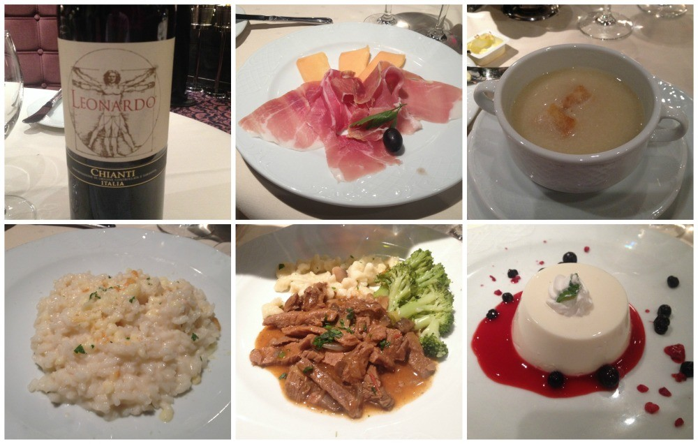 Meals on MSC Magnifica 2015