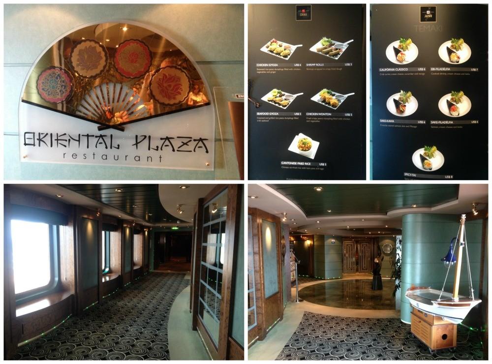 Oriental Plaza Restaurant MSC Magnifica
