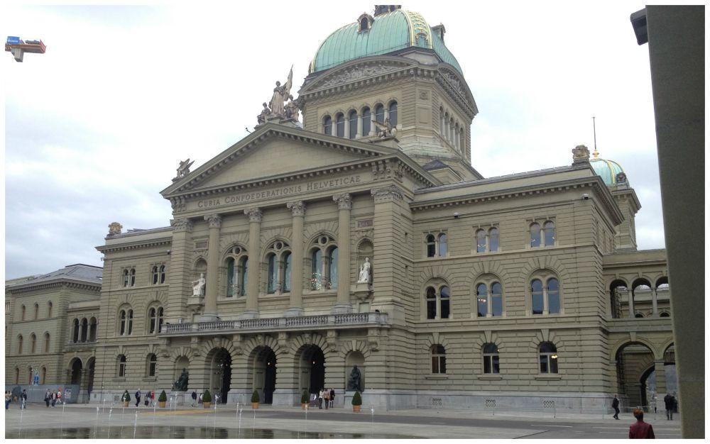 Parliament house in Bern Switzerland