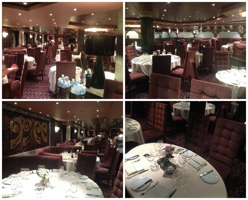 Quattro Venti Restaurant on MSC Magnifica