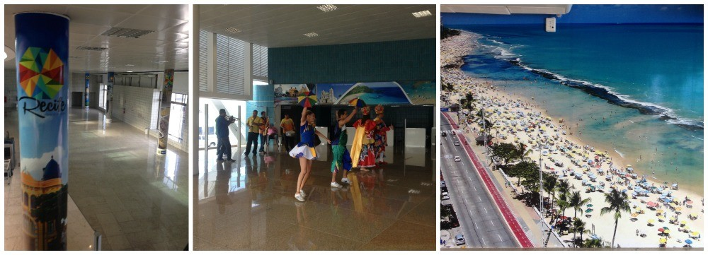 Recife welcome event at the cruise terminal