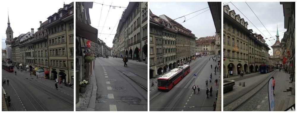 Streets in Bern Switzerland 2015