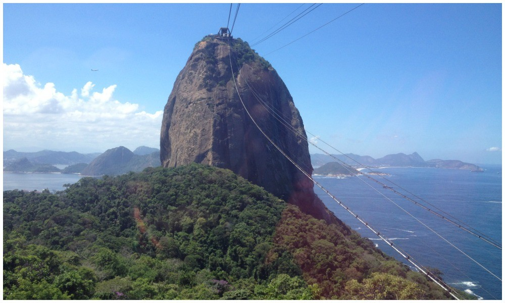 Sugarloaf Mountain in Rio