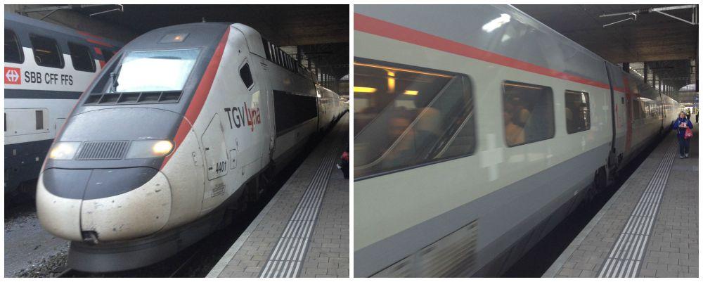TGV Basel to Paris