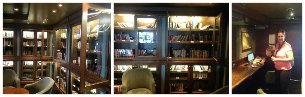 The Library on MSC Magnifica